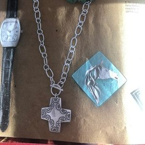 Silpada Sterling Silver .925 Cross Necklace
